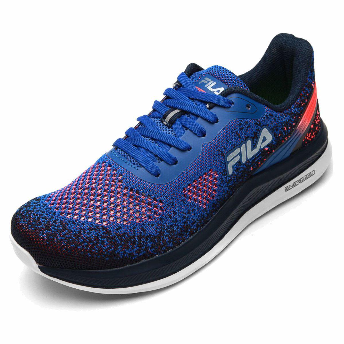 Tenis Fila FR Lumix Energized Running Masculino Azul