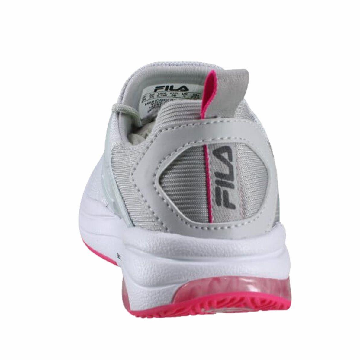 Tenis Fila Thunderbolt Training Academia Feminino Cinza