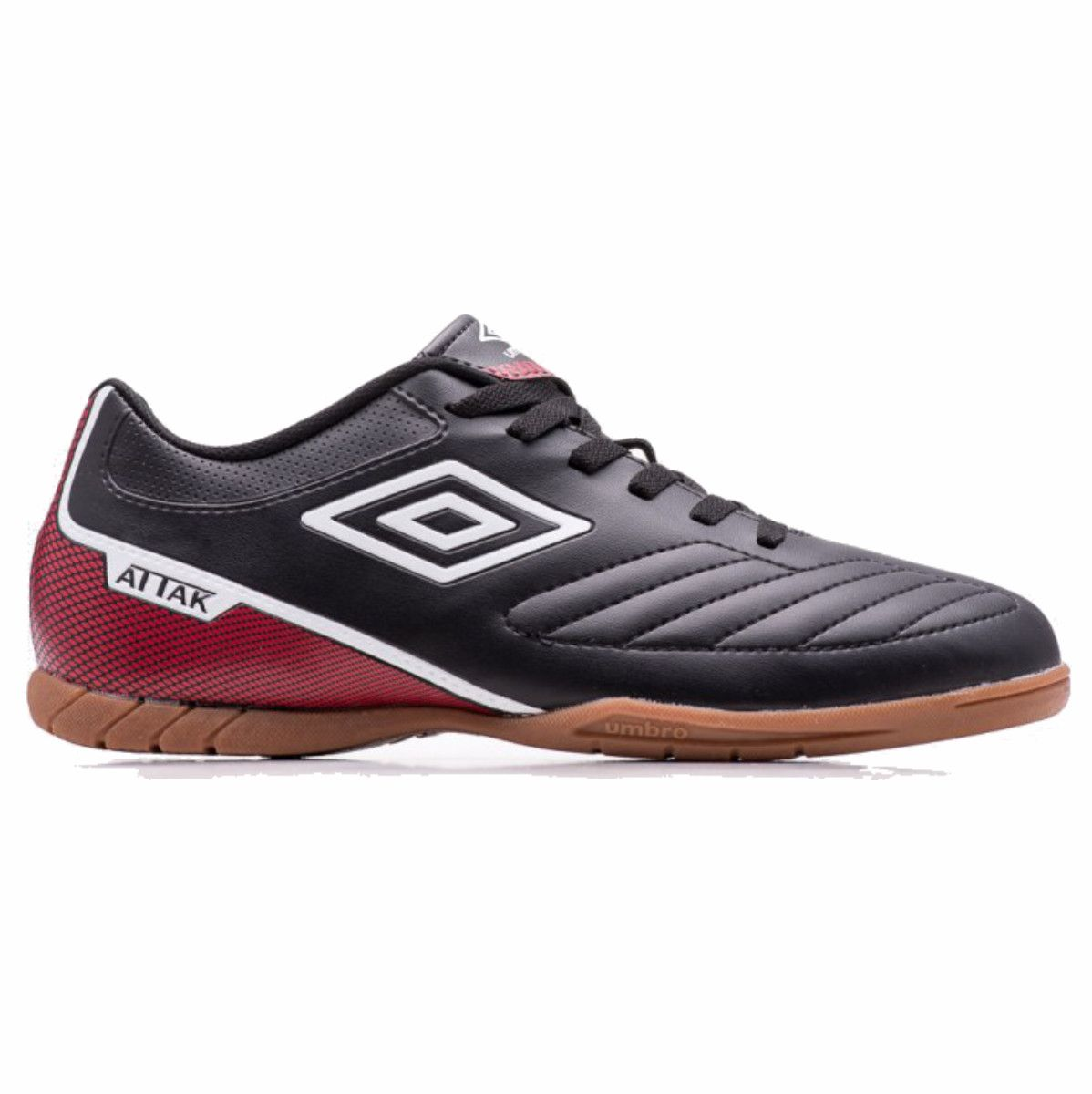 Tenis Indoor Umbro Attak II Futsal Preto