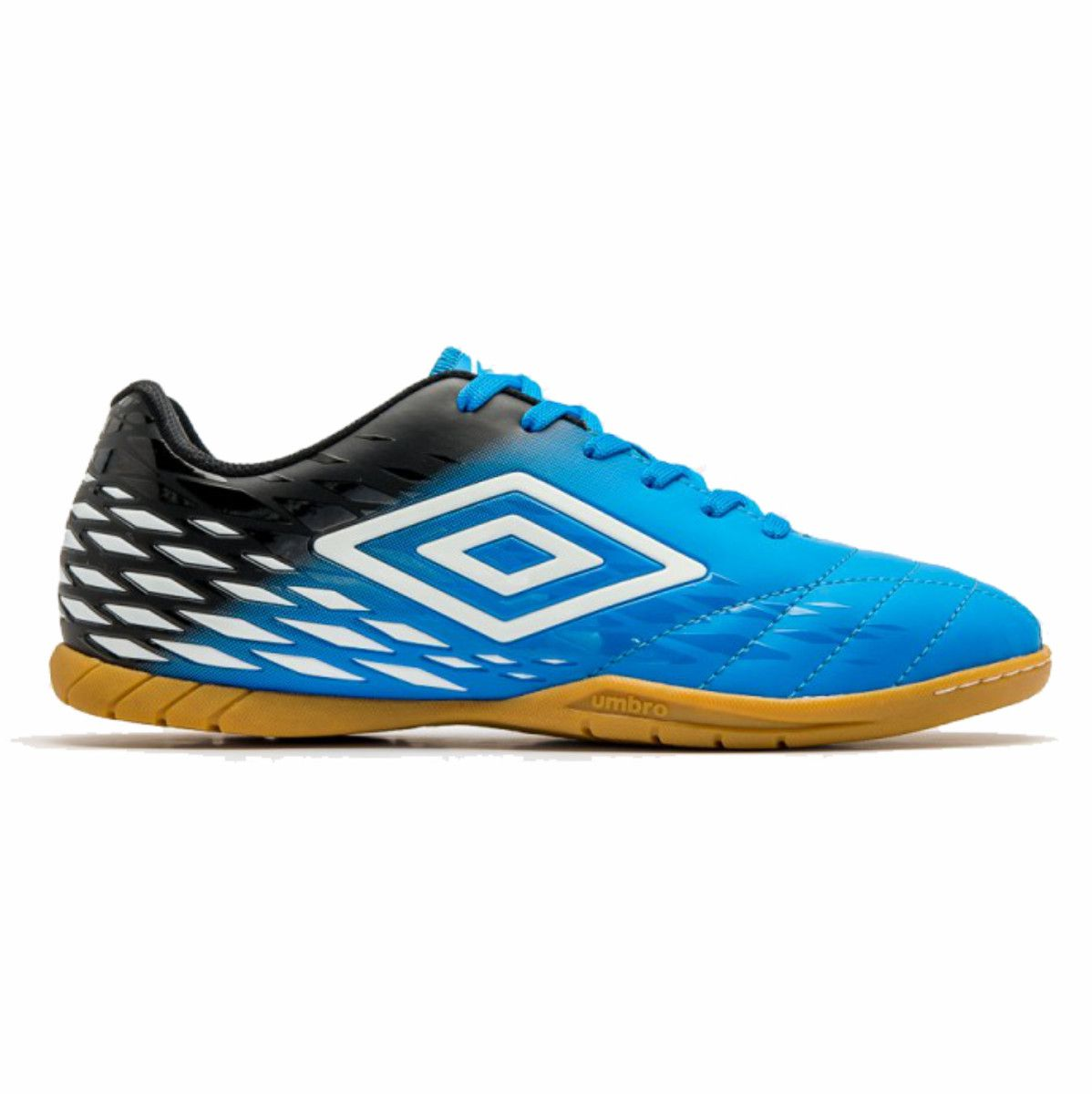 Tenis Indoor Umbro Fifty Ii 2 Futsal Azul Preto