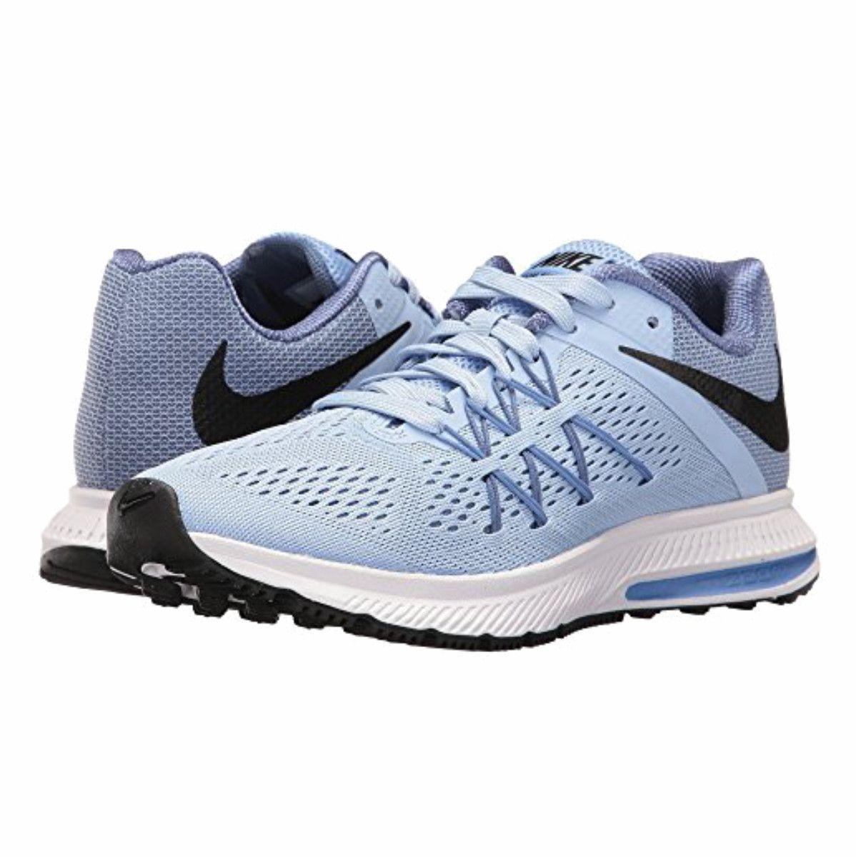 Tenis Nike Zoom Winflo 3 Azul Feminino