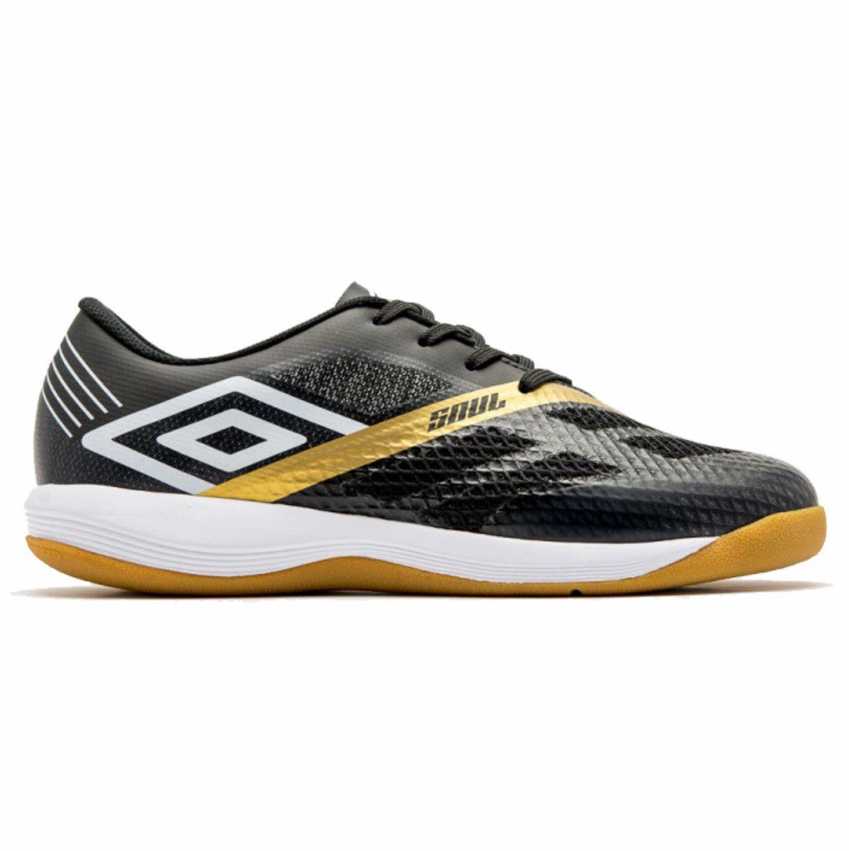 Tenis Umbro Soul Pro Indoor Futsal Preto