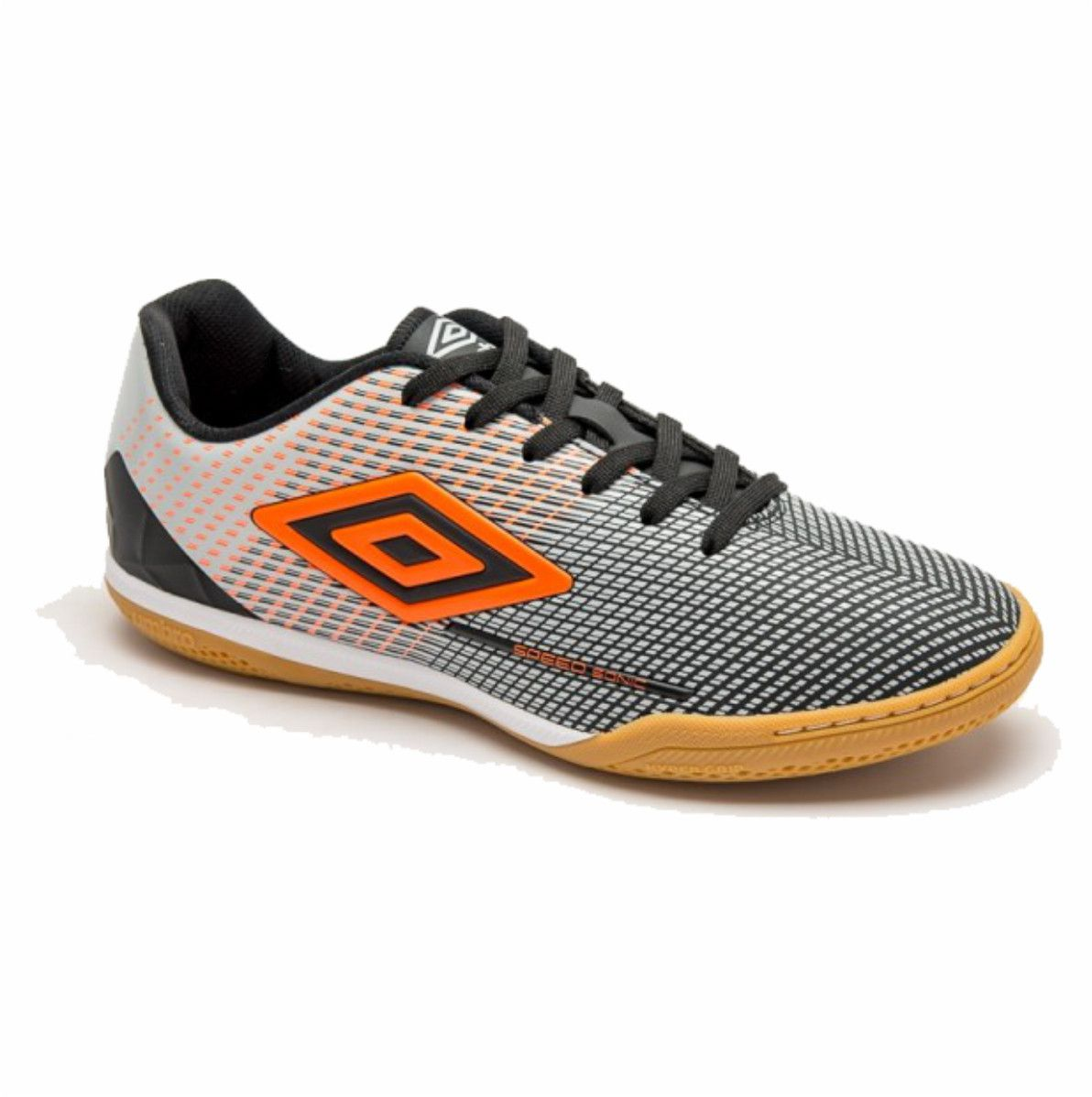 Tenis Umbro Speed Sonic Indoor Futsal Preto Costurado