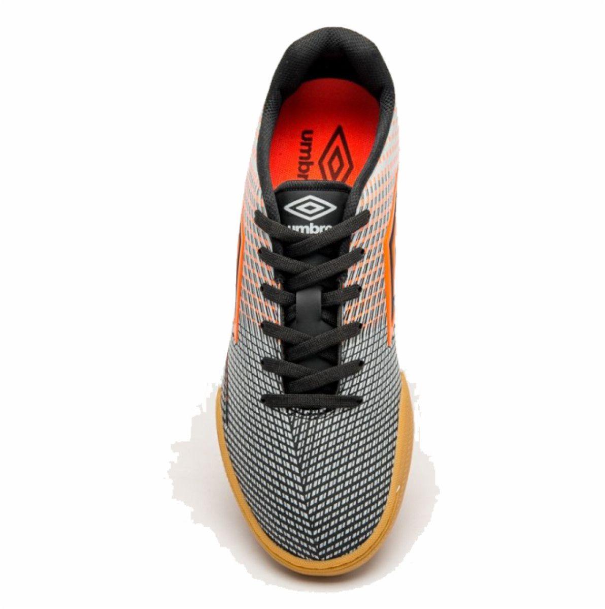 Tenis Umbro Speed Sonic Indoor Futsal Preto Costurado