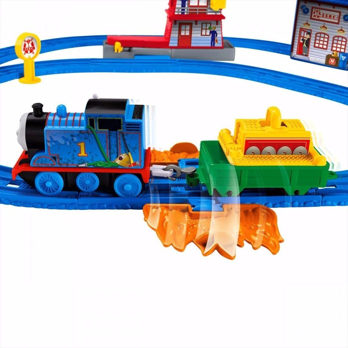 Thomas & Friends Ferrovia Thomas ao Resgate Fisher Price BMF10
