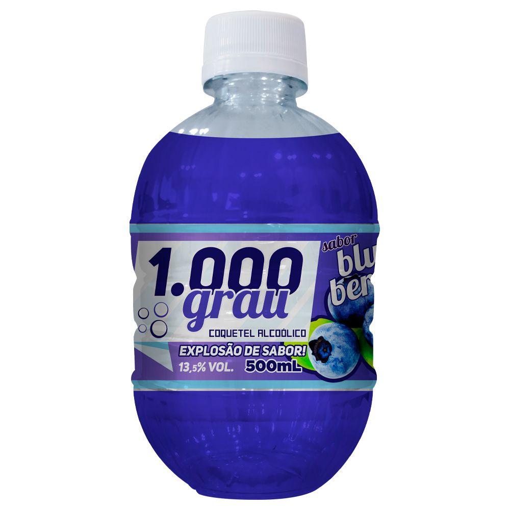 1000 GRAU COQUETEL ALCOÓLICO 500ML BLUE BERRY