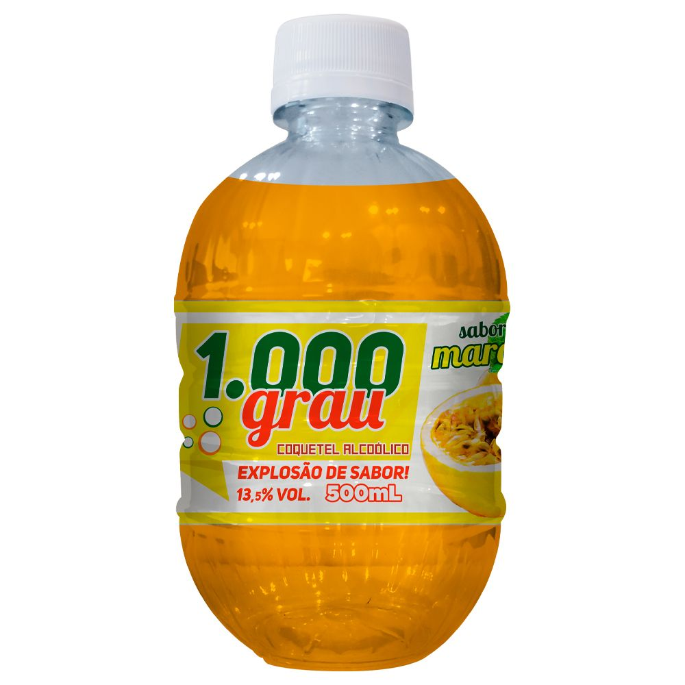 1000 GRAU COQUETEL ALCOÓLICO 500ML MARACUJÁ