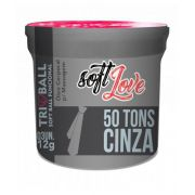 SOFT BALL C/ 3 CINQUENTA TONS DE CINZA