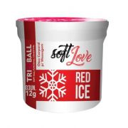 SOFT BALL C/ 3  RED ICE