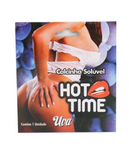 CALCINHA COMESTÍVEL HOT TIME UVA