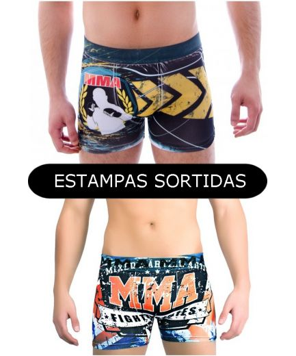 CUECA BOX ADULTO SUBLIMADA