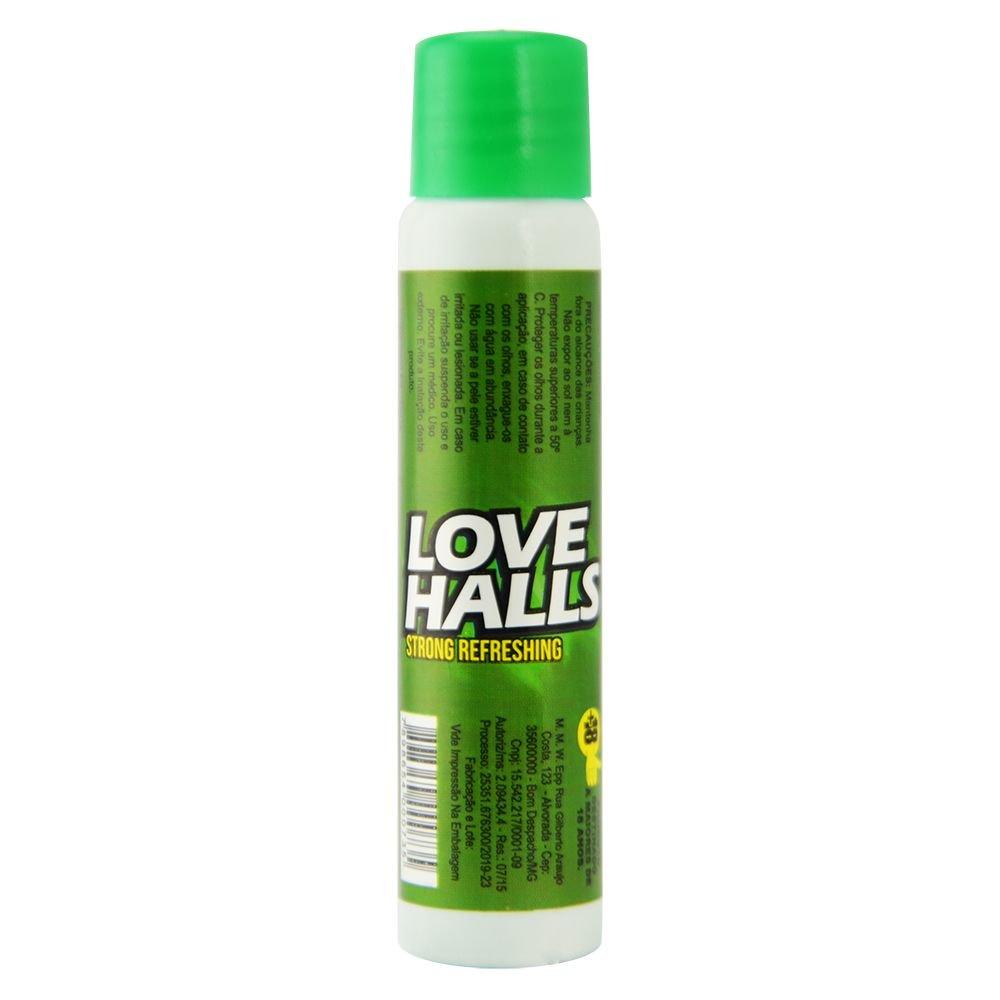 LOVE HALLS GEL BEIJÁVEL RESFRESCANTE MENTA 18ML