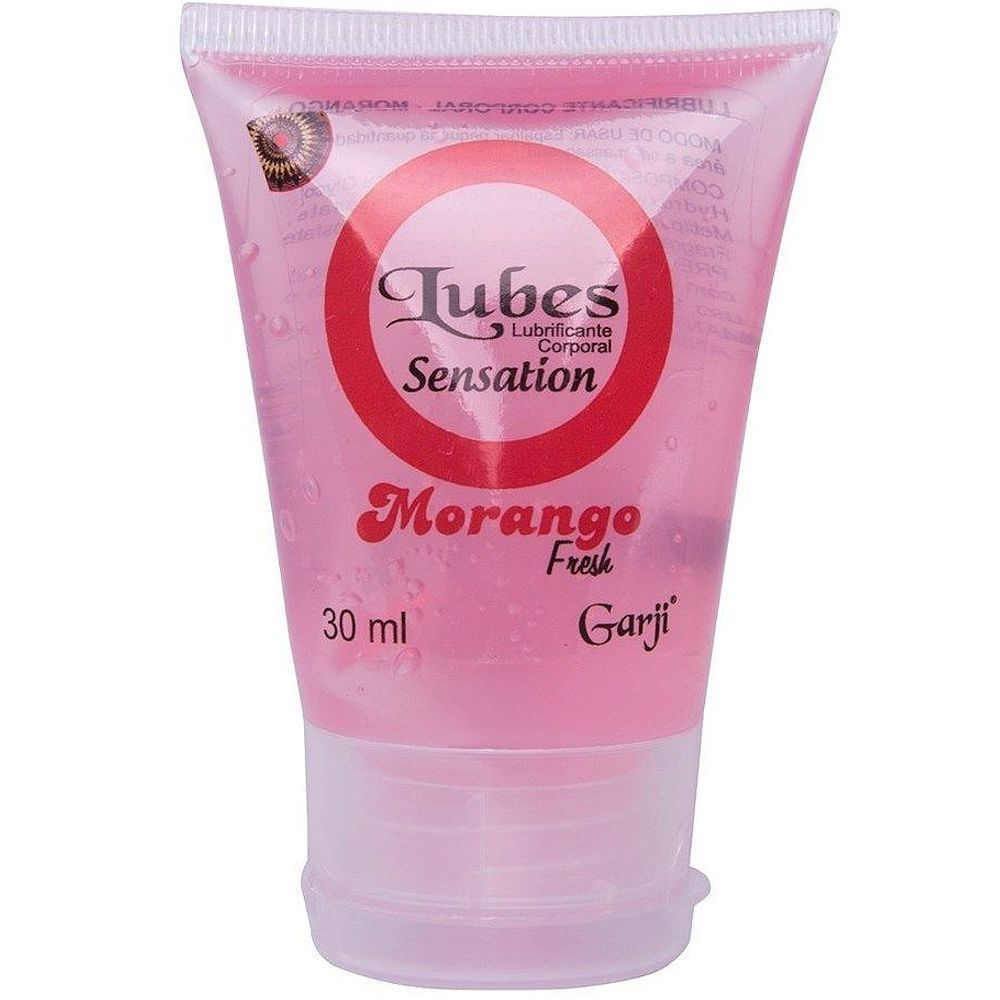 LUBES SENSATION MORANGO 30ML