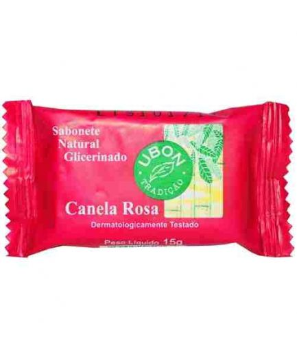 MINI SABONETE CANELA ROSA FLOW PACK