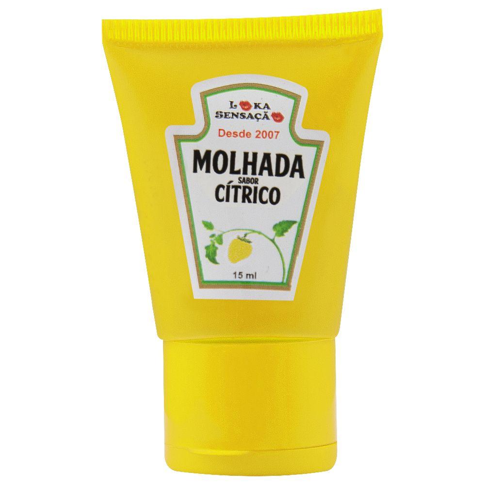 MOLHADA BALA EM GEL CÍTRICO