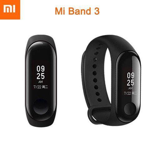 Pulseira Para Atividades Físicas Xiaomi Mi Band 3 Xmsh05hm