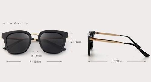 b5be0944e05b9 Óculos De Sol Feminino Polarizado Kingseven Lente Plana - ProGames  Eletrônicos