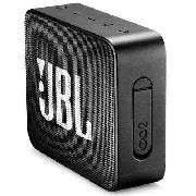 Jbl Go 2 Com Bluetooth/auxiliar Bateria De 730 Mah - Preto