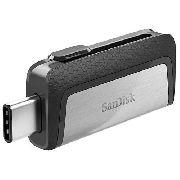 Pen Drive SanDisk Ultra Dual Drive 64GB USB 3.1 Type C
