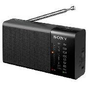 Radio Portátil Sony Icf-p36 Am/fm 100 Mw Preto
