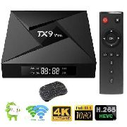 STREAMING MEDIA PLAYER ANDROID TX9 PRO 4K 3GB/32GB S912 ARM