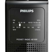 Rádio Portátil Philips Am/fm Ae1500/78x A Pilha Portatil