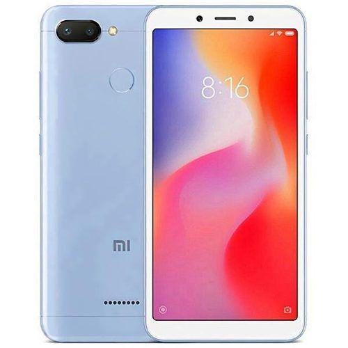 Smartphone Xiaomi Redmi 6 32gb 5.45 12+5mp/5mp Os 8.1 Azul