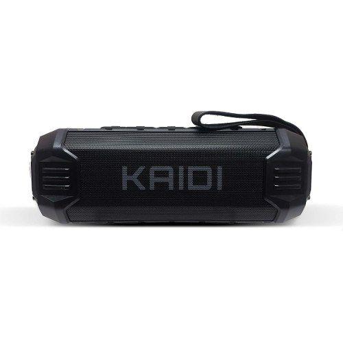 Caixa De Som Bluetooth Kaidi Kd805 Prova D'agua Ipx4 Preto