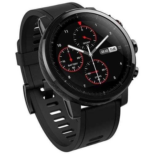 Smartwatch Xiaomi Amazfit Stratos A1619 Tela De 1.34 Preto