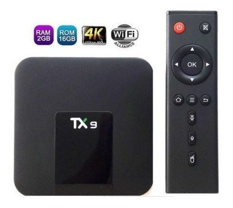 STREAMING MEDIA PLAYER Tx9  2gb/16gb Android 7.1 ARM Cortex Quad Core 1.20GHz