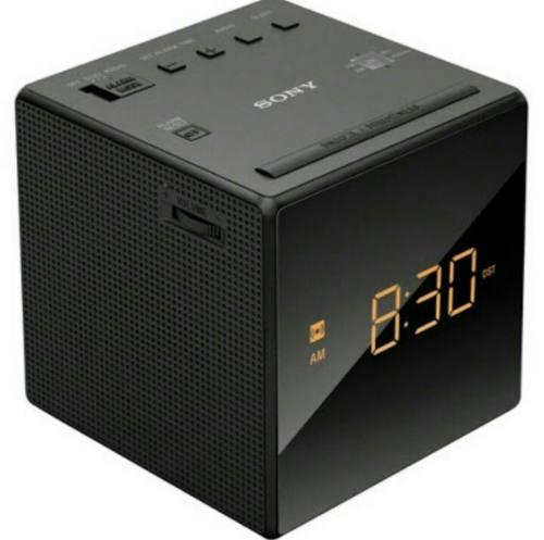 Rádio Relógio Am/fm Função Snooze Icf-c1 127v - Sony