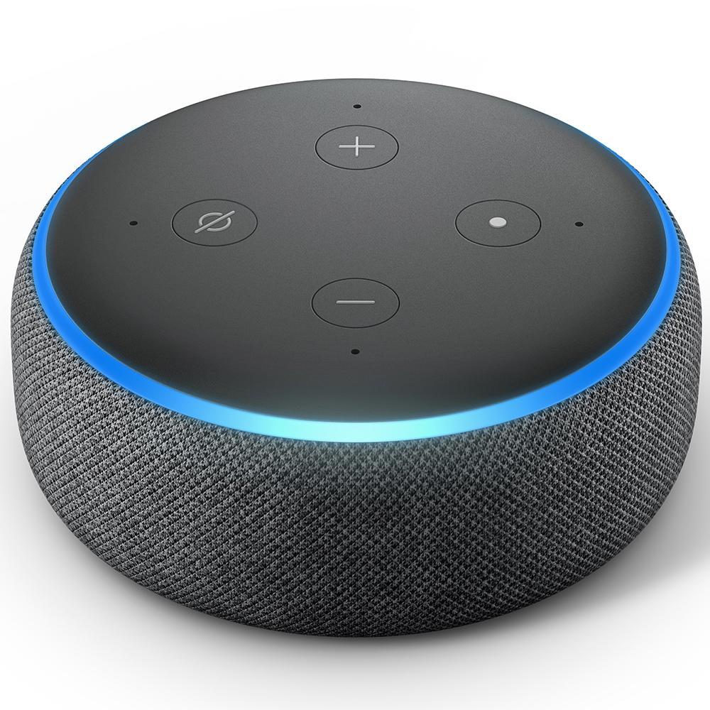 Amazon Smart Home Echo Dot Alexa, 3ª Geração Preto