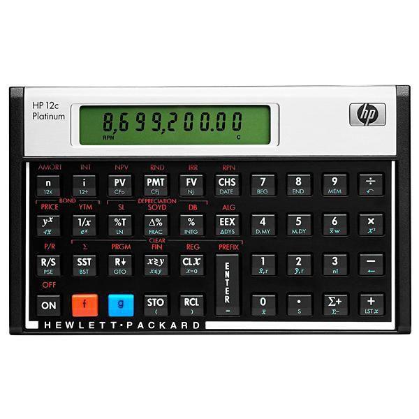 Calculadora Financeira HP 12c Platinum com 130 Funções