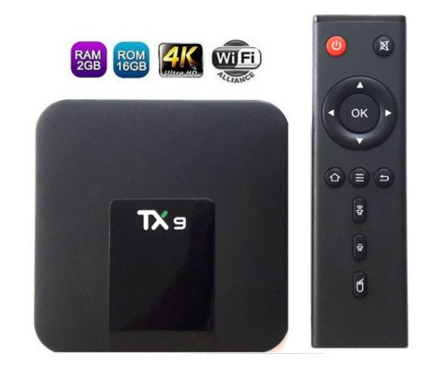 Conversor Smart Tv Tx9 4Gb Ram Ddr3- 32Gb Rom