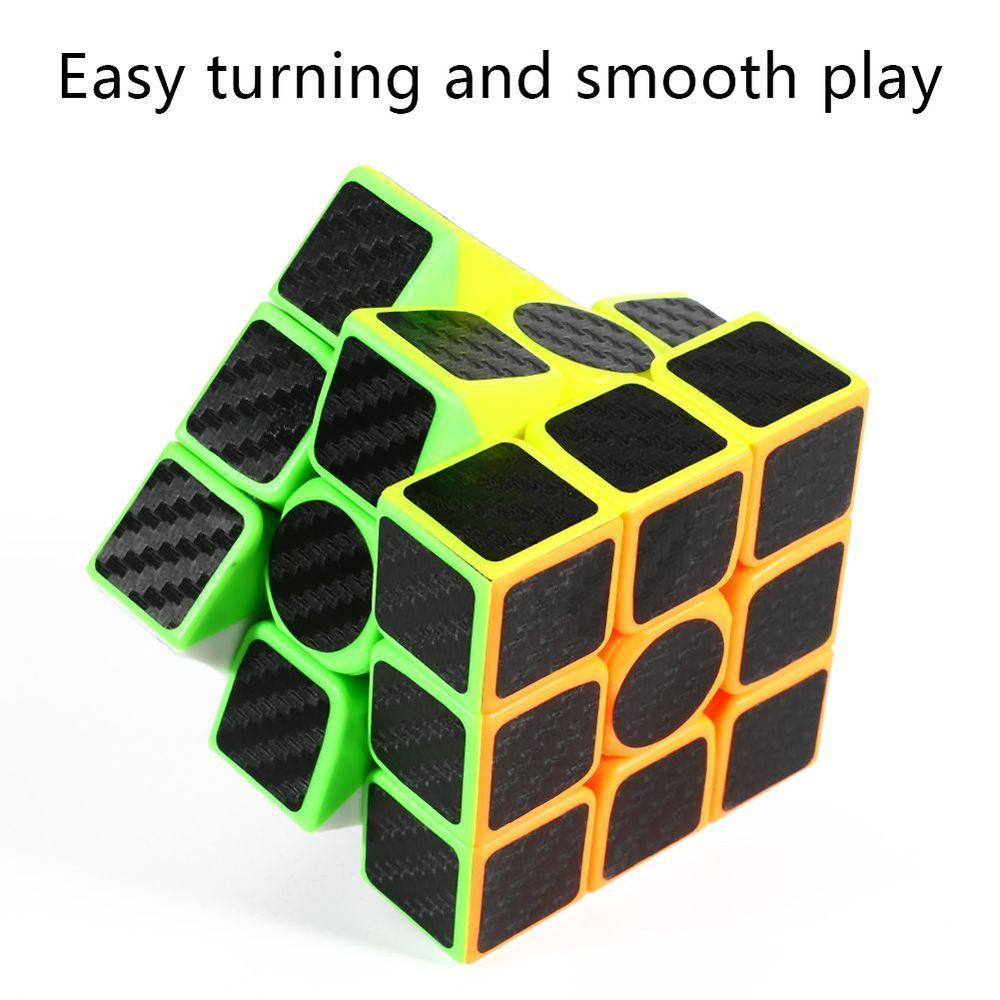 Cubo Mágico Profissional 3x3x3 Fanxin Black Carbon