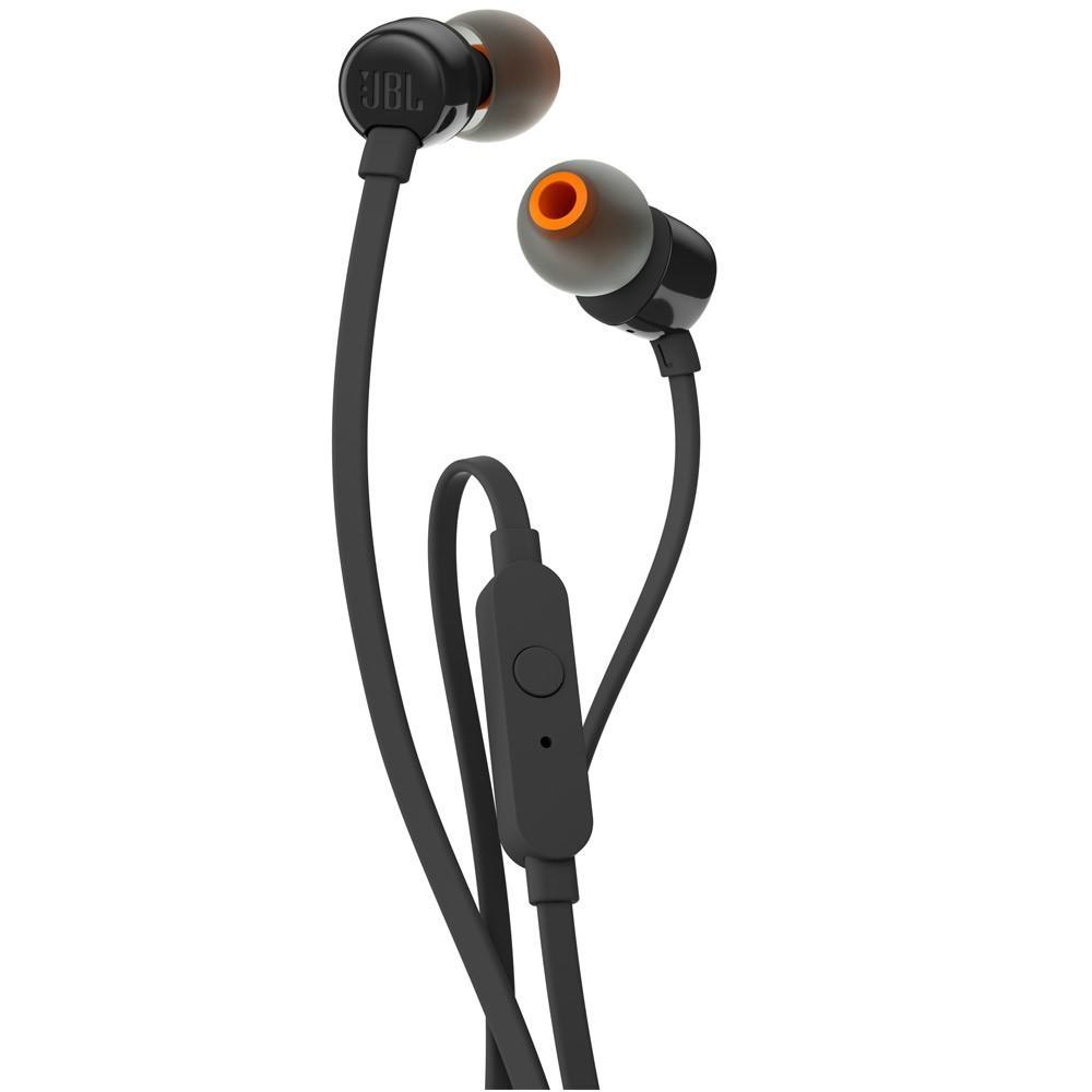 Fone de Ouvido Intra Auricular JBL T110 Preto