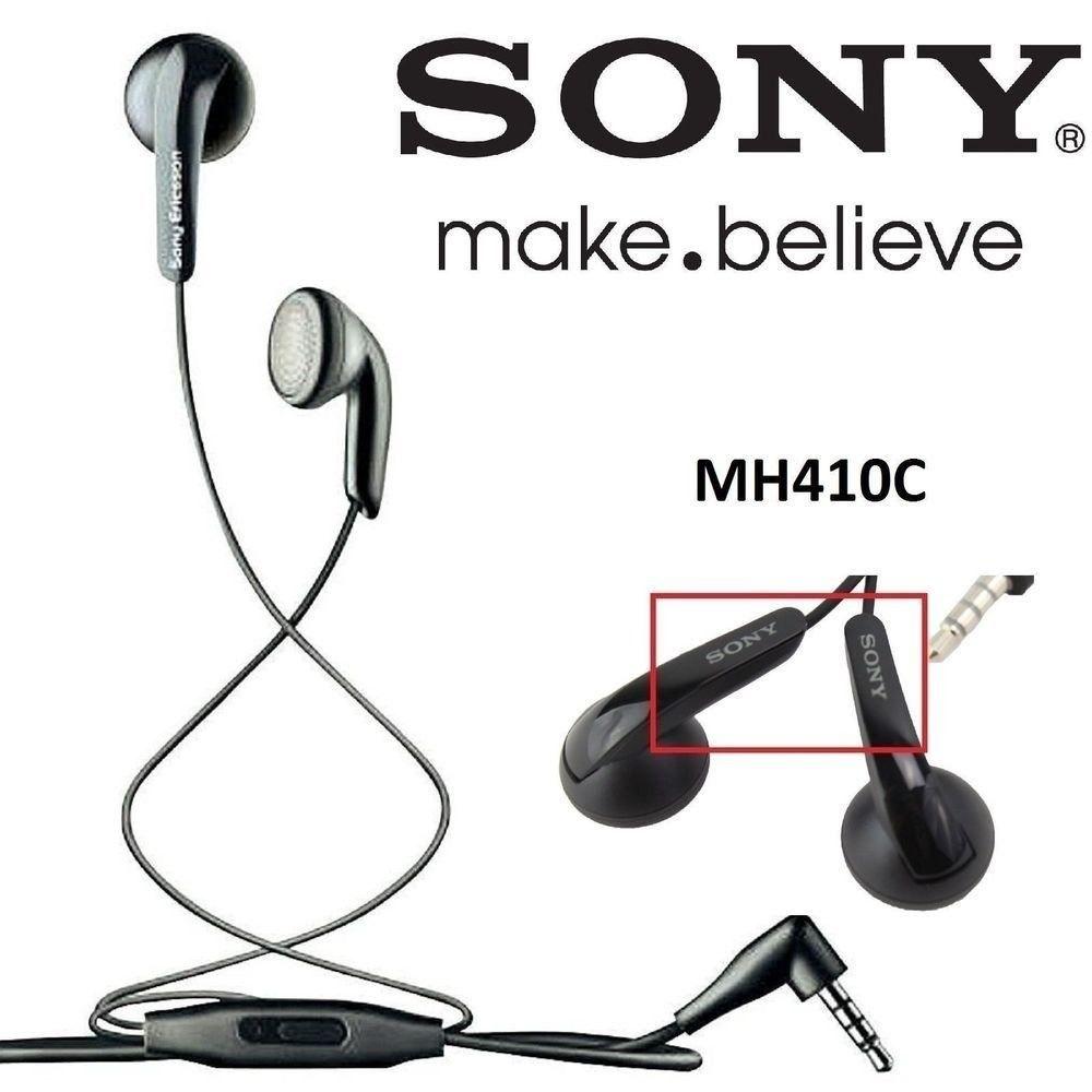 Fone De Ouvido Mh410c Original Sony preto