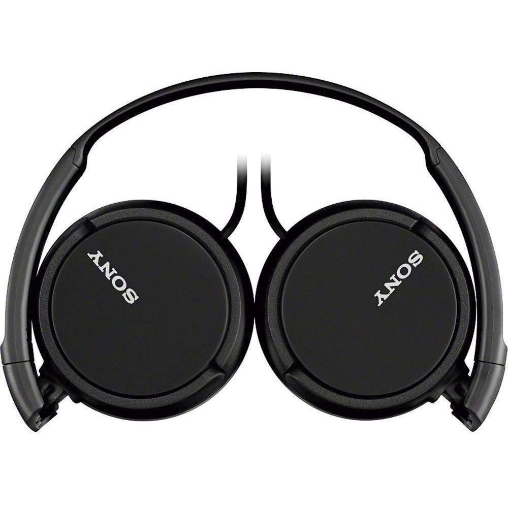 Fone Sony Headphone MDR-ZX110/B Preto