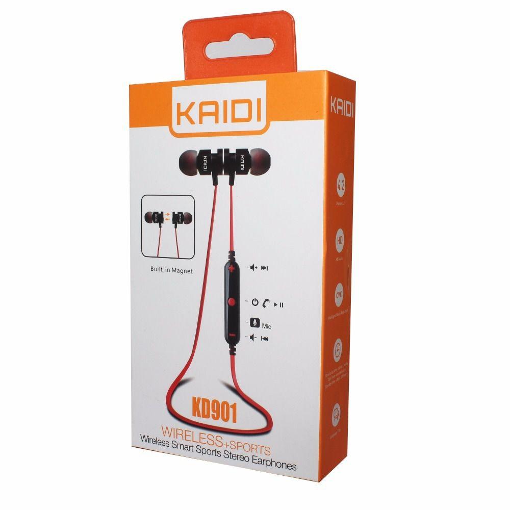 Fone Sports Sem Fio Fitness Original Wireless - Kaidi Kd901