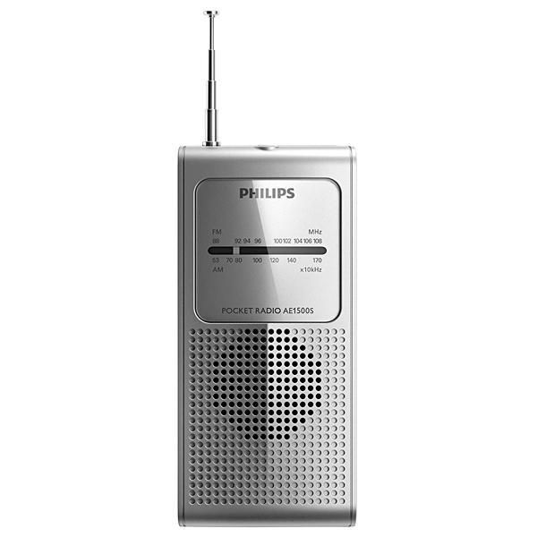 Rádio Portátil AM/FM Philips AE-1500S/37 0.2 watts RMS a Pilha