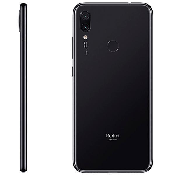 """Smartphone Xiaomi Redmi Note 7 64GB de 6.3"""" 48 13MP - Preto Space"""