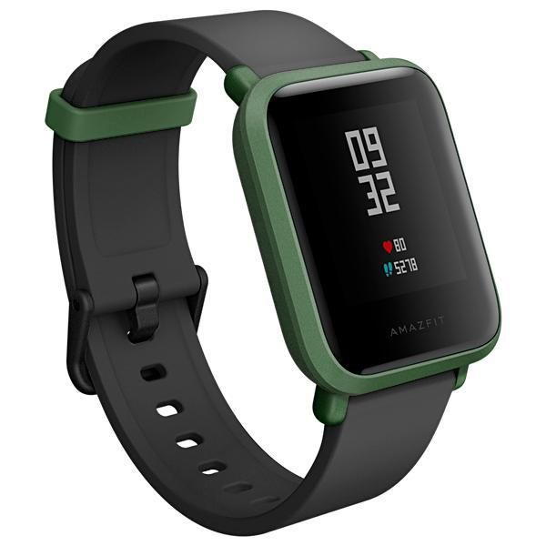 Smartwatch Xiaomi Amazfit Bip A1608 Bluetooth/GPS - Preto/Verde