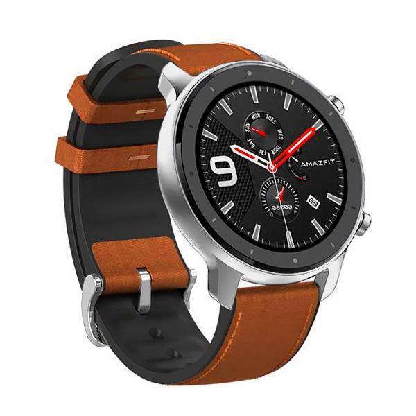 Smartwatch Xiaomi Amazfit GTR A1902 47 mm Prata/Marrom