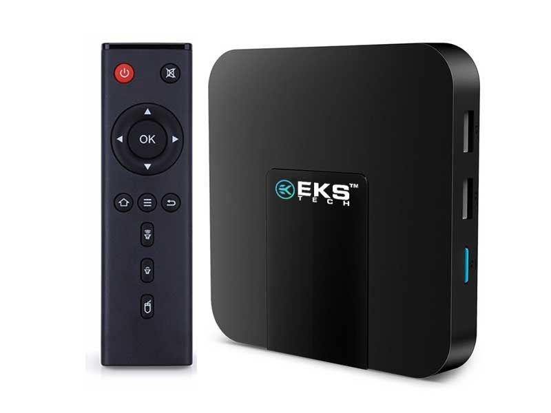 Streaming Media Player Eks K95w - H.265 2gb + 16gb Preto