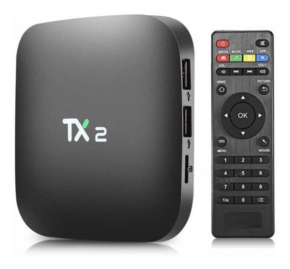 STREAMING MEDIA PLAYER TX2 ANDROID 7.1 3/32Gb CORTEX A7 1.46GHZ