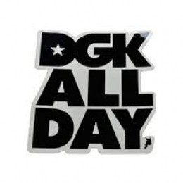 Adesivo DGK ALL DAY Black