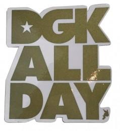 Adesivo DGK ALL DAY Gold