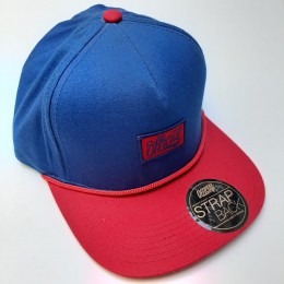 Boné Official Strapback The Bust Blue Red