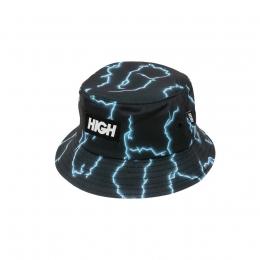 Bucket High Fleece Bucket Hat Storm Black