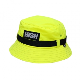 Bucket High Strapped Bucket Hat Yellow